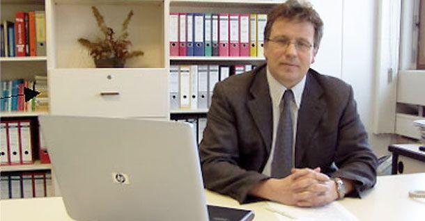Geschäftsführer Gerhard Huber